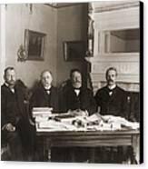 William Howard Taft Center Headed Canvas Print