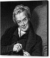 William Wilberforce, British Politician Canvas Print by Middle Temple Library