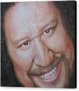 Willie K -hui O Waa  Detail Canvas Print