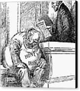 Wilson Cartoon, 1913 Canvas Print