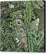 Wimbledon Tennis Complex, Uk Canvas Print by Getmapping Plc