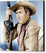 Winchester 73, James Stewart, 1950 Canvas Print