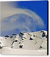 Wind Skier Canvas Print