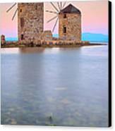 Windmills  Canvas Print by Emmanuel Panagiotakis