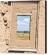 Window To The Past Canvas Print by Sean McGuire