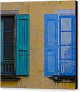 Windows Canvas Print by Debra and Dave Vanderlaan