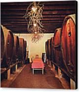 Wine Cellar Canvas Print by Benjamin Matthijs