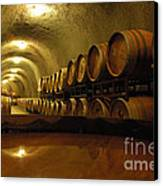 Wine Cellar Canvas Print by Micah May