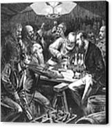 Wine Tasting, 1876 Canvas Print by Granger
