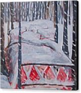 Winter Hybernation Canvas Print by Tilly Strauss