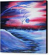 Winter's Frost Canvas Print by Shadrach Ensor