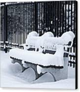 Winter's Quiescence Canvas Print by Dale Kincaid