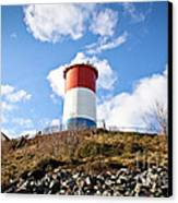 Winthrop Water Tower Canvas Print by Extrospection Art