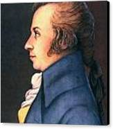 Wolfgang Amadeus Mozart Canvas Print by Granger