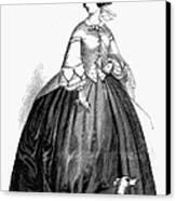 Womens Fashion, 1857 Canvas Print