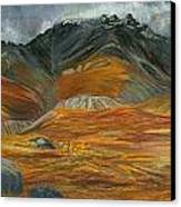 Wood  River Autumn Canvas Print by Amy Reisland-Speer