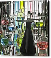 Working Laboratory Canvas Print by Kantilal Patel