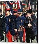 World War I: Veterans Canvas Print
