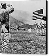 World War II, Brigadier General E.b Canvas Print by Everett
