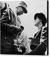 World War II. First Lady Eleanor Canvas Print