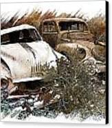 Wreck 3 Canvas Print