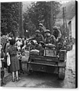 Wwii Liberation Of France Canvas Print
