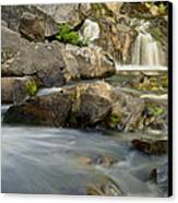 Yellow Dog Falls 4246 Canvas Print by Michael Peychich