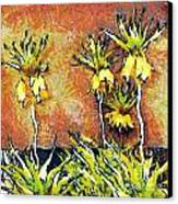 Yellow Flowers Canvas Print by Odon Czintos