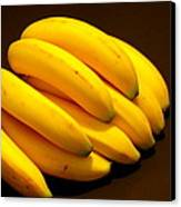 Yellow Ripe Bananas Canvas Print by Jose Lopez