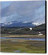 Yellowstone Vista 10 Canvas Print by Charles Warren