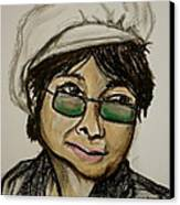 Yoko Canvas Print by Pete Maier