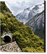 Yosemite Tunnel Canvas Print