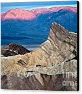 Zabriskie Point Dawn Canvas Print by Jim Chamberlain