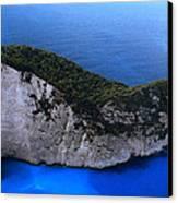Zakynthos  Crocodile Island Greece Canvas Print by Colette V Hera  Guggenheim