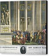 Z.taylor: Inauguration Canvas Print by Granger