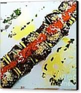 Zucchini Bowls Canvas Print by Ankeeta Bansal