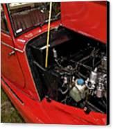 1961 Morgan Plus 4 Drophead Coupe Canvas Print