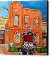 Beautiful Synagogue On Bagg Street Canvas Print