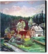 Black Forest Germany Canvas Print