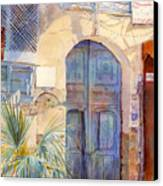 Blue Door  Canvas Print by Dorothy Boyer