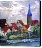 Brucker Kirche Canvas Print