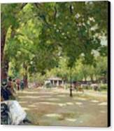 Hyde Park - London Canvas Print