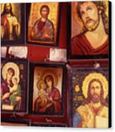 Religious Icons Canvas Print