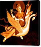 Saraswati 4 Canvas Print