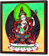Saraswati 6 Canvas Print