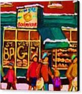 St. Viateur Bagel Family Bakery Canvas Print