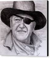 The Duke Canvas Print by Jack Skinner
