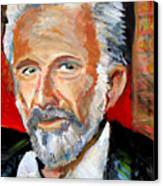 The Most Interesting Man In The World Canvas Print by Jon Baldwin  Art