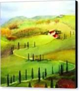 Tuscany Canvas Print by Maryann Schigur