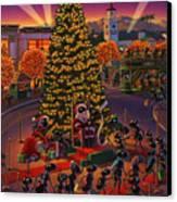Visiting Santa Anta  Canvas Print by Robin Moline